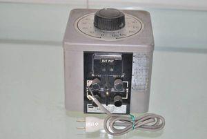 TOSHIBA 東芝 スライダック 交流電圧調整器 SK110 USED