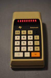 ヴィンテージLED電卓 Texas Instruments社 TI-2500B レトロ 一式