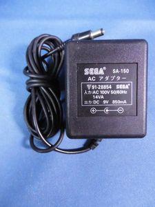SEGA【ACアダプタ☆SA-150☆DC9V 850mA】即決/保証付 AC6094Q