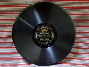 SPレコード スポーツ小唄 かちどきの唄,ジャズ 夕となれば/229