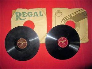 岩手、昭和初期レコード「三陸観光音頭・沼宮内音頭」等、2枚