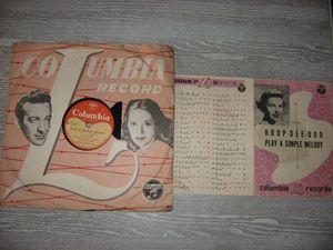 SP盤 DINAH SHORE/HOOP-DEE-DOO