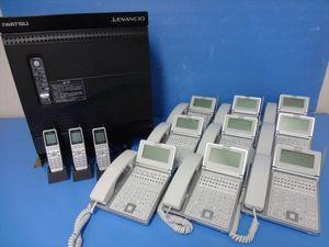 岩通 LEVANCIO IX-CME-N 主装置/電話機1+卓上型コ8+コ3台!