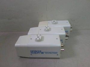 *日立 VK-C556 防犯カメラ  カラービデオ三つセット