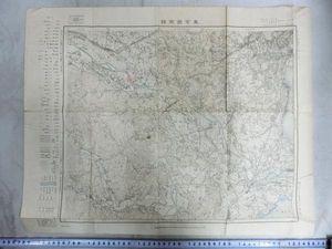 A01109 大正期8年東京西南部の地図 多摩川沿い
