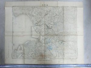 A01107 明治期愛知県三河国豊橋町界隈の地図