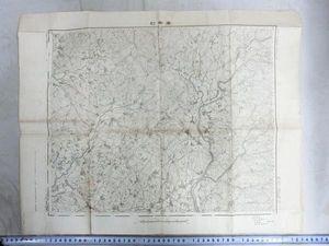 A01105 明治期愛知県三河国挙母村界隈の地図