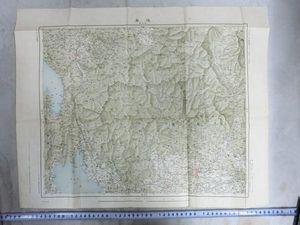 A01106 大正期帝国陸地測量部 岐阜県界隈の地図