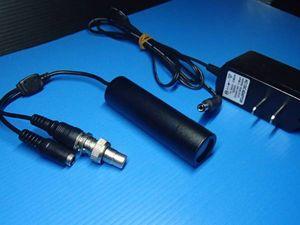 小型カメラ カメラ カラー CCD 監視 電源アダプター付 中古
