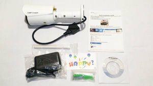 【中古】DBPOWER C300E 監視カメラ 日本語対応 動体検知 暗視可