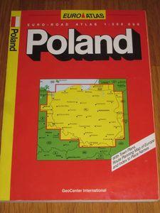 ポーランド地図 EURO ATLAS 1:300000