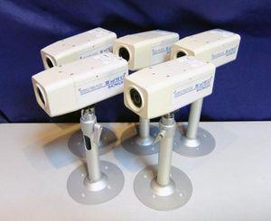 ★≪中古品≫日立製 業務用 監視カメラ DSP-III 5台 ステイ付き