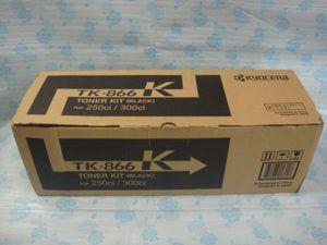京セラ 純正品 トナーキット TK-866K 250ci/300ci ブラック