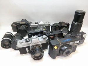 1円~ジャンク カメラ レンズまとめて ペンタックス ミノルタ等