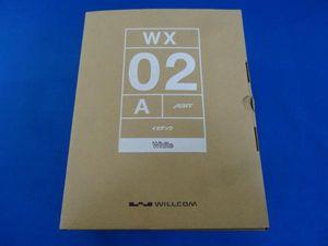 未使用 Y!mobile イエデンワ WX02A 旧WILLCOM 電話機
