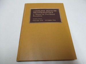 K638★COMPLETE DENTURE PROSTHODONTICS Vol.1№2