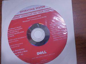os リカバリディスク DELL Windows7 Pro 64bit
