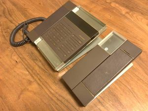 amadana コードレス電話機 PT-208 アマダナ 親機子機セット