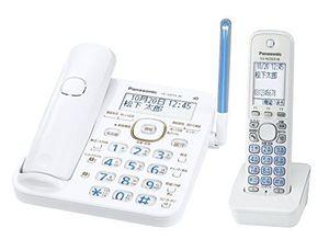 パナソニック デジタルコードレス電話機ホワイト VE-GD53DL-W