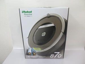 iRobot ロボット掃除機 ルンバ870 未開封品 ▼ 49A14-1