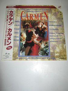 カラヤン監督,指揮/ビゼー:歌劇「カルメン」[LD]4820*160718-5W