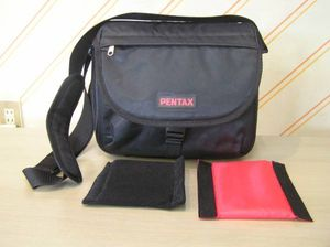 美品 PENTAX カメラバッグ 内寸約 巾280 高さ200 奥行100mm