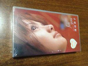 新品未開封ビデオ 深田恭子 for you [VHS]