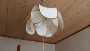 照明器具 傘 6畳 ペンダントライトLED対応 2灯 (株)わのん