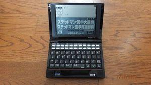 Seiko 医学電子辞書 ステッドマン SR-A10003 中古美品