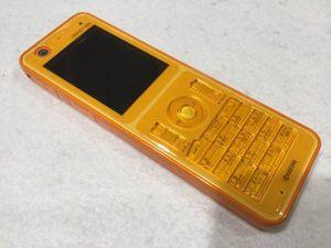 ☆WILLCOM ☆WX350K(オレンジ)T124