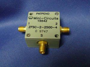 ZFSC-2-2500 Mini-Circuits 10MHz~2.5GHz 0° Power Splitter 4