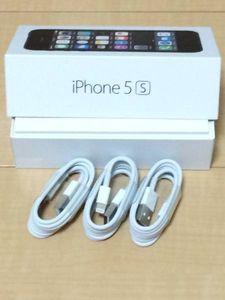 新品Apple純正iPhone567ライトニングケーブル3個 USB充電c