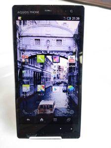SoftBank AQUOS PHONE Xx 203SH ホワイト 正常作動 中古 白ロム 〇判定 送料無料