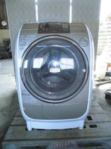 HITACHI KAZEIRON BIG DRUM 洗濯乾燥機 BD-V3100L形 1-18-3A