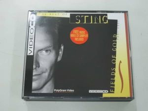 D00029207/(洋楽)VideoCD2枚組/Sting「The Best Of Sting / Fields Of Gold 1984-1994