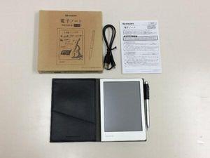 ◆3102/SHARP WG-S30-B 電子ノート