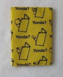 ブックカバー Yonda? パンダ柄 黄色 新潮文庫 未使用品
