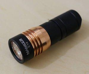 Manker E14 XP-G3 1600lm フラッシュライト IMR18350付属 美品
