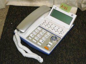 A186★saxa サクサ ビジネスフォン 18ボタン多機能電話機★TD710(W)