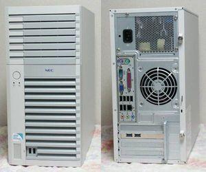 【Win2000/WinXP/Win7】3モードFDD搭載 Express5800風 マルチブートPC (E8500/4GB/250GB)