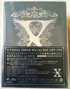 ★完売 入手不可 新品未使用★ X JAPAN / X VISUAL SHOCK BLU-RAY BOX 1989-1992