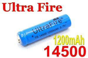 送料180円■大容量■1200mAh/14500リチウムイオン充電池/同梱可