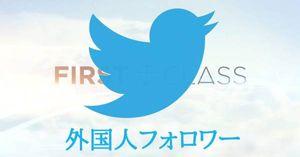 【大好評】Twitter外国人フォロワー20000人追加 ツイッターNo.1