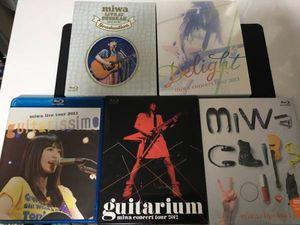 【中古並品】miwa Blu-ray 5枚セット