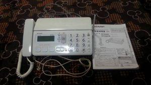 SHARP FAX電話機 UX-D20CL 親機 美品