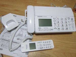◆パナソニック デジタルコードレスFAX 子機1台付 KX-PD205-W◆ジャンク扱い