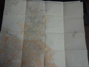 地図3角ー3-69/古地図/横須賀/1万分の1