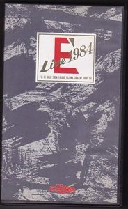 【VHS】矢沢永吉 / E'LIVE1984