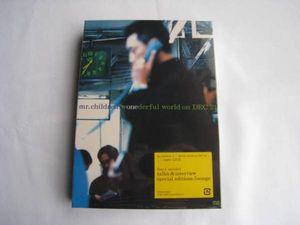 Mr.Children WONDER-FUL WORLD ON DEC 21[DVD]ミスチル/2002/ライブ/横浜アリーナ/即決
