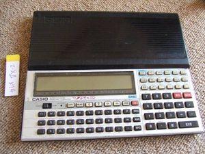 カシオ ポケコン VX-2 本体 ポケットコンピュータ 中古 ジャンク